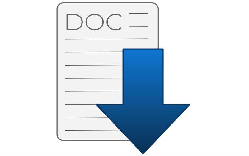 Convertir documento Word a JPG
