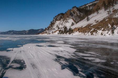 Lago Baikal agua cristalina