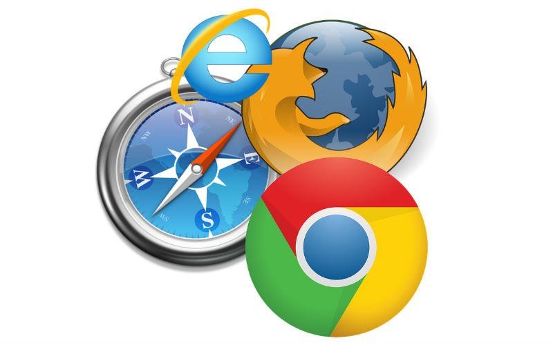 Los principales navegadores web en Internet