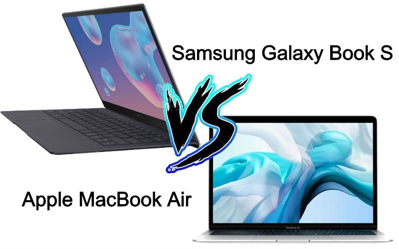 Samsung Galaxy Book S vs macbook air