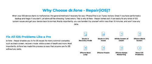 Why choose Dr.Fone