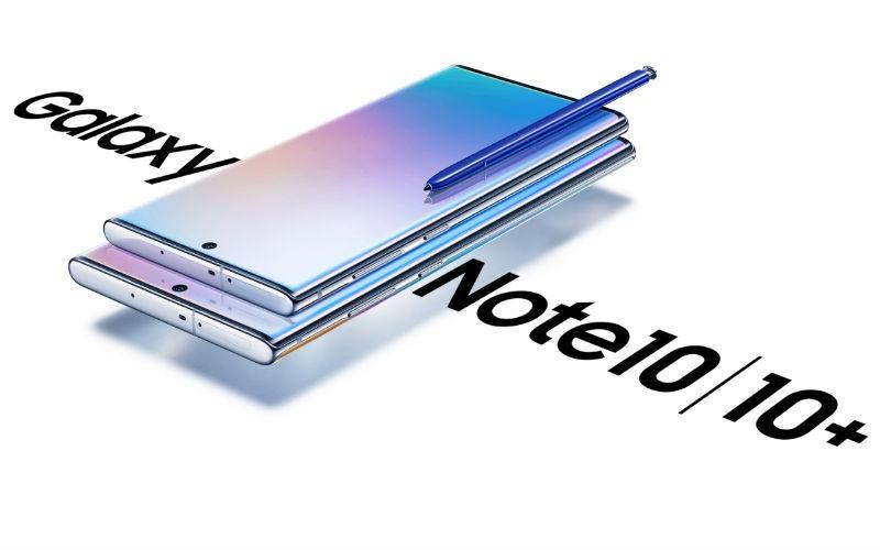 nuevo Samsung Galaxy Note 10 y Note 10+