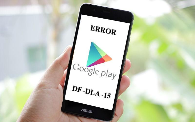 que es Error df-dla-15
