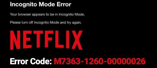 Error M7399-1260-00000024
