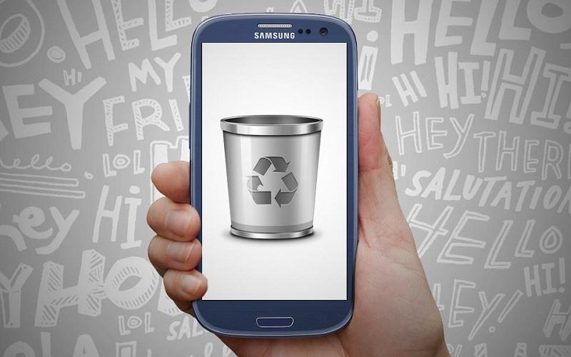 Papelera Reciclaje Android